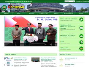 Universitas Islam Malang Screenshot