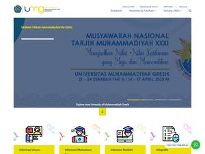 UMG University at umg.ac.id Screenshot