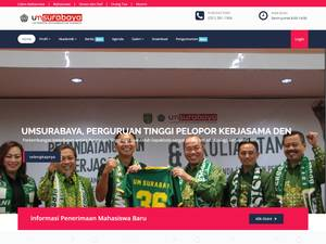 Universitas Muhammadiyah Surabaya Screenshot