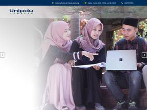 Universitas Pesantren Tinggi Darul 'Ulum's Website Screenshot