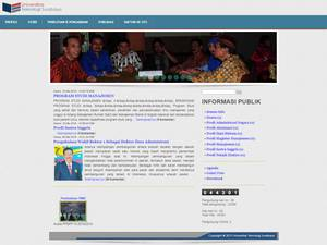 Universitas Teknologi Surabaya's Website Screenshot