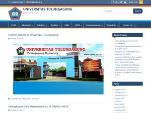Universitas Tulungagung's Website Screenshot