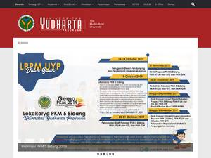 Universitas Yudharta Pasuruan's Website Screenshot