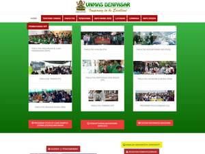 Mahasaraswati University of Denpasar Screenshot