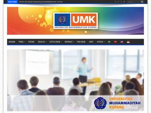 Universitas Muhammadiyah Kupang's Website Screenshot