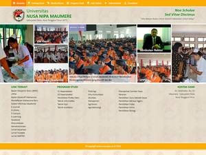 Universitas Nusa Nipa Screenshot
