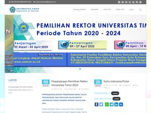 Timor University Screenshot