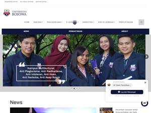 Universitas Bosowa Screenshot