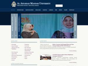 Al Asyariah Mandar University Screenshot