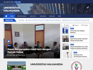 Universitas Halmahera Screenshot