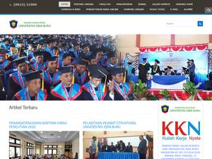 Universitas Iqra Buru Screenshot