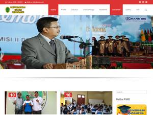 Universitas Islam Indragiri's Website Screenshot