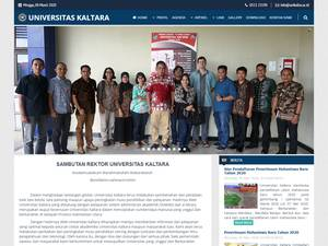 Universitas Kaltara Screenshot