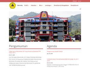 Universitas Kristen Indonesia Toraja Screenshot