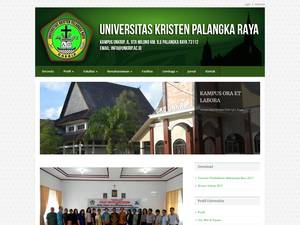 Christian University of Palangkaraya Screenshot