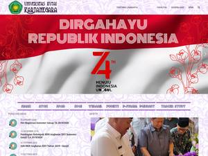 Universitas Kutai Kartanegara Screenshot