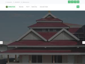 Universitas Muhammadiyah Buton's Website Screenshot