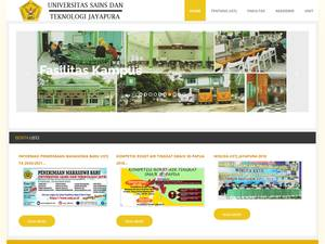 University of Science and Technology, Jayapura Screenshot