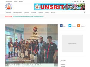 Universitas Sari Putra Tomohon Screenshot