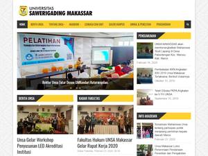 Universitas Sawerigading Makassar Screenshot