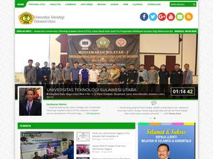 Universitas Teknologi Sulawesi Utara Screenshot