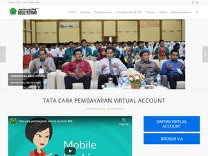 Universitas Abulyatama's Website Screenshot