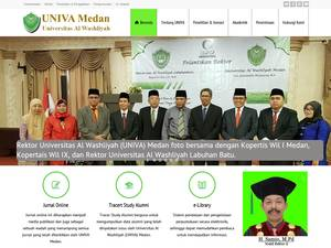 Universitas Alwashliyah Screenshot