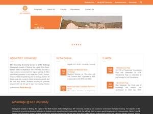 University of Technology and Management's Website Screenshot