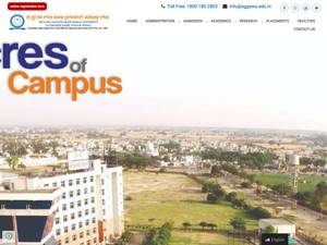 Sri Guru Granth Sahib World University's Website Screenshot