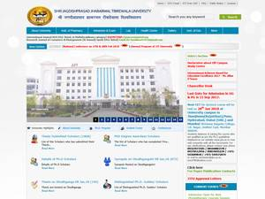 Shri Jagdishprasad Jhabrmal Tibrewala University's Website Screenshot
