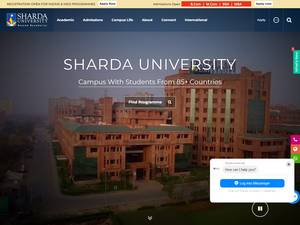 Sharda University Screenshot