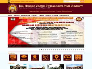 don honorio ventura technological state Don honorio ventura technological state university (dhvtsu) the don honorio ventura technological state university formerly known as:don honorio ventura college of arts and trades is a.