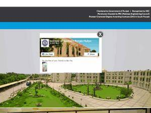 Institute of Southern Punjab Screenshot