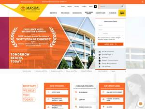 Manipal University, Dubai Screenshot