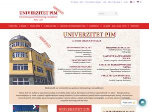 University for Business Engineering and Management Screenshot