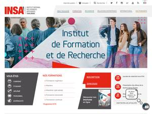 National Institute for Applied Sciences, Toulouse Screenshot