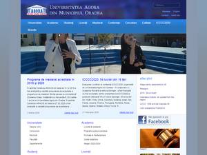 Universitatea Agora din Oradea Screenshot
