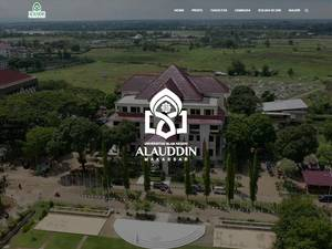Alauddin State Islamic University Screenshot