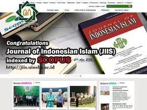 Universitas Islam Negeri Sunan Ampel Surabaya Screenshot