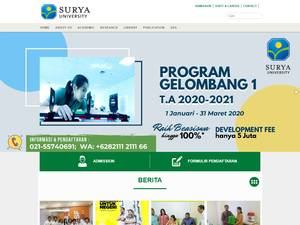 Universitas Surya Screenshot