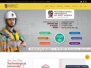 International University of East Africa Screenshot
