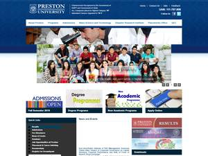 Preston University Screenshot