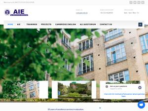 Ali Institute of Education Screenshot