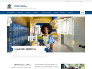 Universidade Ceuma's Website Screenshot