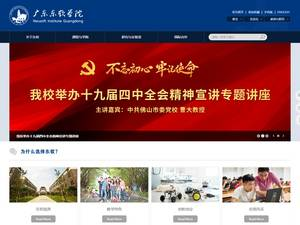 Neusoft Institute, Guangdong Screenshot
