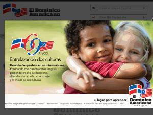 Universidad Domínico-Americana's Website Screenshot