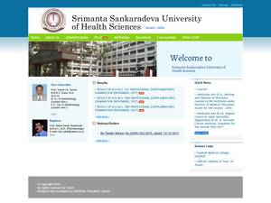 Srimanta Sankaradeva University of Health Sciences Screenshot
