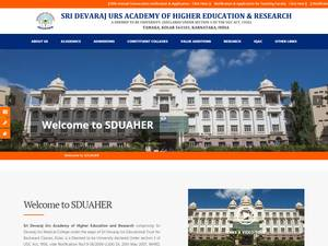 Sri Devaraj Urs Academy of Higher Education and Research Screenshot