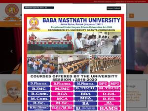Baba Mastnath University Screenshot