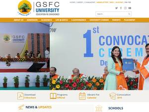 GSFC University Screenshot